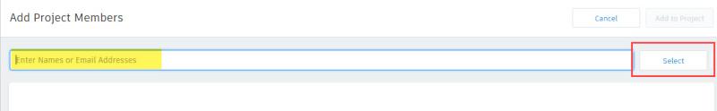 BIM 360 project admin select