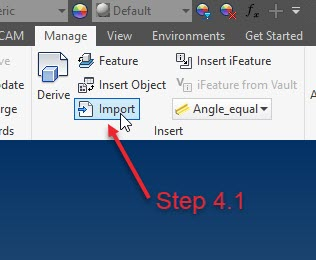 Getting AutoCAD 3D files to Inventor - IMAGINiT Manufacturing