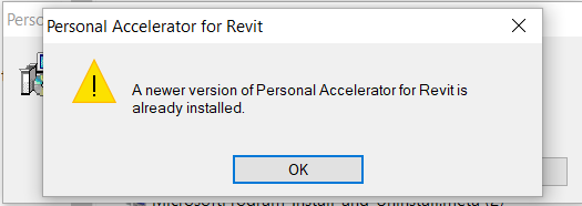 Personal accelerator for revit