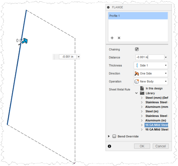 Creating Conical Sheet Metal Components in Autodesk Fusion