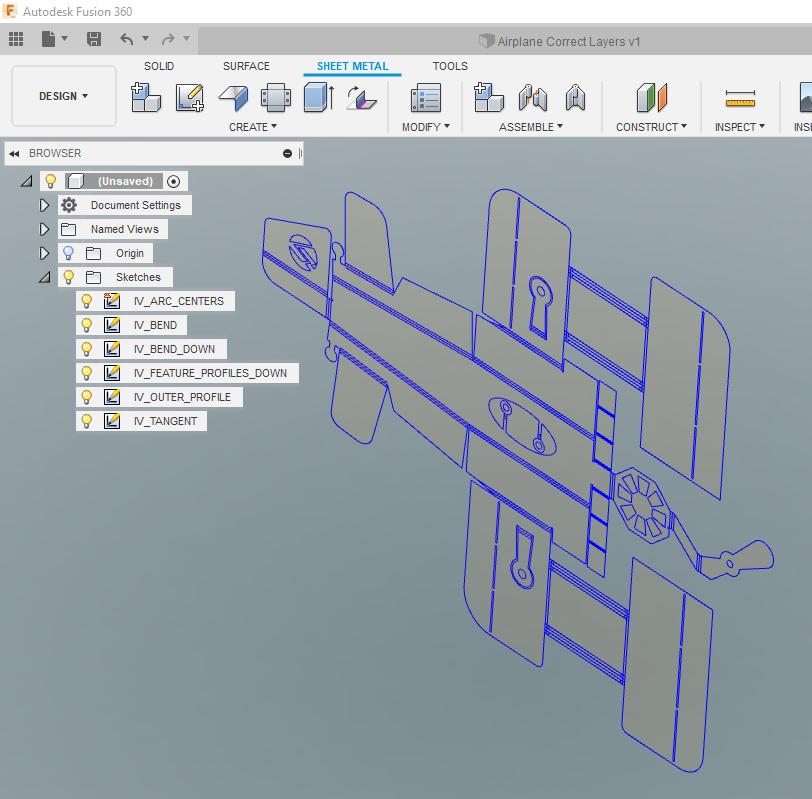 AutoCAD to Fusion 360 Sheetmetal - IMAGINiT Manufacturing