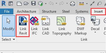 BIM 360 link revit file