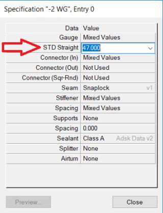 BLOG_Main Database-Specification dialog
