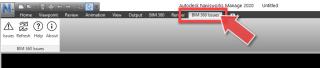 BLOG_BIM 360 Issues Ribbon tab